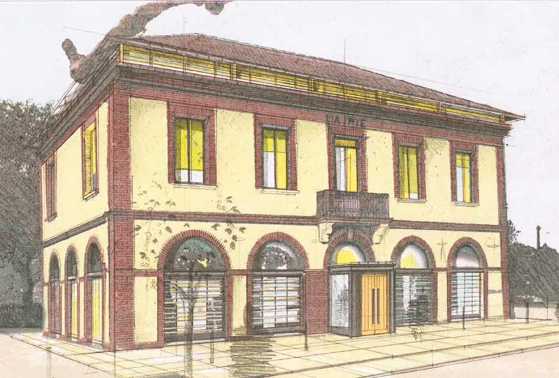 Le pavillon architectures - mairie de berat -4