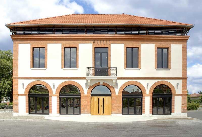 Le pavillon architectures - mairie de berat -2