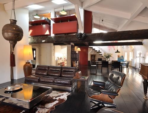 Aménagement d'un appartement en duplex à partir de 8 chambres de bonnes, Toulouse (31)