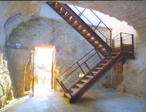 Restauration et mise en valeur du grand bastion du château de Lectoure (32)